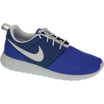 Buty Chłopiec Trampki niskie Nike Roshe One Gs 599728-410 Niebieskie,Granatowe