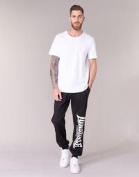 tekstylia Męskie Spodnie dresowe Lonsdale LARGE LOGO Czarny