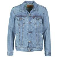 tekstylia Męskie Kurtki jeansowe Levi's THE TRUCKER JACKET Niebieski