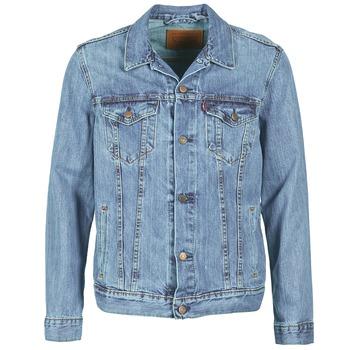 tekstylia Męskie Kurtki jeansowe Levi's THE TRUCKER JACKET   /