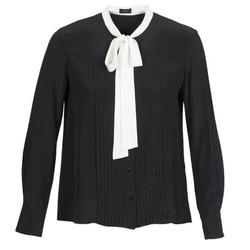 tekstylia Damskie Koszule Joseph VICTOIRE Czarny