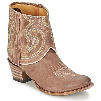 Buty Damskie Buty za kostkę Sendra boots 11011 TAUPE