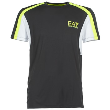 tekstylia Męskie T-shirty z krótkim rękawem Emporio Armani EA7 VENTUS7 Czarny