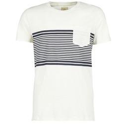 tekstylia Męskie T-shirty z krótkim rękawem Selected LIAM Biały