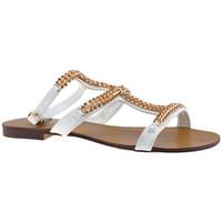 Buty Damskie Sandały F. Milano  Biały