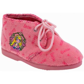 Buty Dziewczynka Kapcie niemowlęce Barbie  Różowy