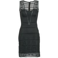tekstylia Damskie Sukienki krótkie Morgan RHONE Czarny