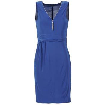 tekstylia Damskie Sukienki krótkie Morgan ROPOM Niebieski
