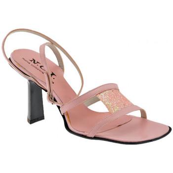 Buty Damskie Sandały Nci  Różowy