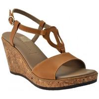 Buty Damskie Sandały Donna Serena  Brązowy