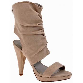 Buty Damskie Sandały Chedivé  Beżowy