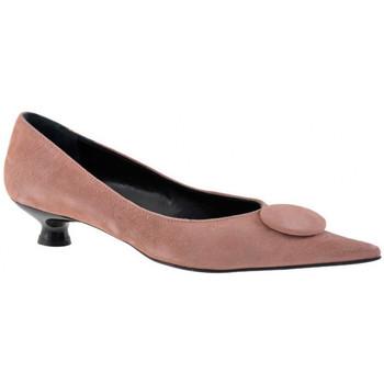 Buty Damskie Baleriny Fascino  Różowy
