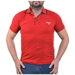 tekstylia Męskie Koszulki polo z krótkim rękawem Converse  Czerwony