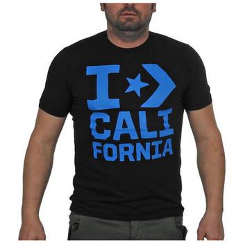 tekstylia Męskie T-shirty z krótkim rękawem Converse  Czarny
