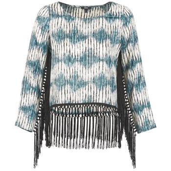 tekstylia Damskie T-shirty z długim rękawem Mexx AMBRELI Niebieski
