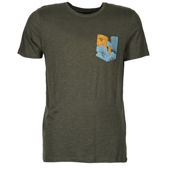tekstylia Męskie T-shirty z krótkim rękawem Jack & Jones TROPICAL ORIGINALS Czarny