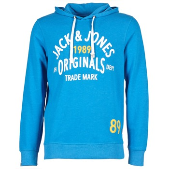 tekstylia Męskie Bluzy Jack & Jones ATHLETIC SWEAT ORIGINALS Niebieski