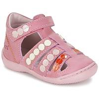 Buty Dziewczynka Sandały Kickers GIFT Różowy