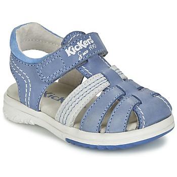 Buty Chłopiec Sandały Kickers PLATINIUM Niebieski