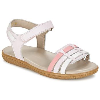 Buty Dziewczynka Sandały Kickers VELOZ Różowy