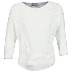 tekstylia Damskie T-shirty z długim rękawem Vero Moda MYBELLA Biały