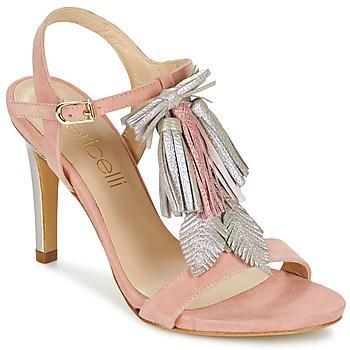 Buty Damskie Sandały Fericelli PATIERNA Różowy