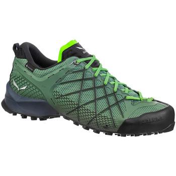 Buty Męskie Trekking Salewa Buty trekkingowe  Ms Wildfire GTX 63487-5949 zielony