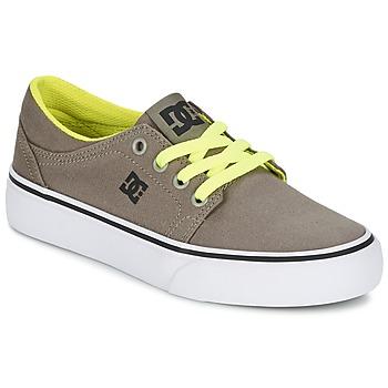 Buty Chłopiec Trampki niskie DC Shoes TRASE TX Taupe