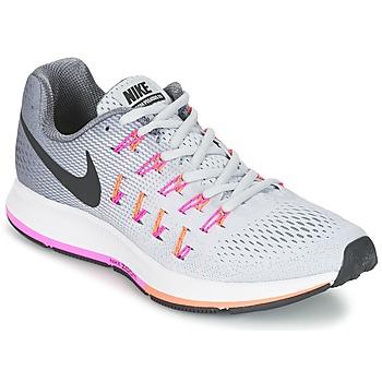 Buty Damskie Bieganie / trail Nike AIR ZOOM PEGASUS 33 W Szary / Różowy