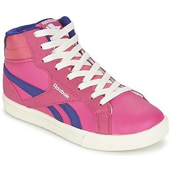 Buty Dziewczynka Trampki wysokie Reebok Classic REEBOK ROYAL COMP 2 Różowy