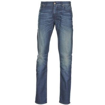 tekstylia Męskie Jeansy slim fit 7 for all Mankind RONNIE ELECTRIC MIND Niebieski / MEDIUM