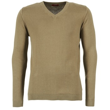 tekstylia Męskie Swetry BOTD ELABASE VEY TAUPE