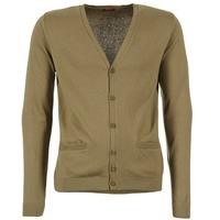 tekstylia Męskie Swetry rozpinane / Kardigany BOTD EFLOVA Taupe