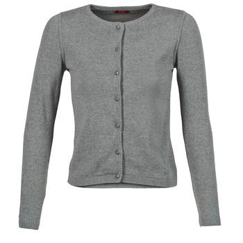 tekstylia Damskie Swetry rozpinane / Kardigany BOTD EVANITOA Szary