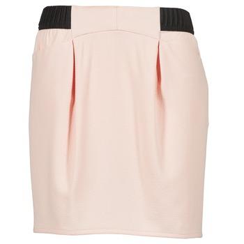tekstylia Damskie Spódnice Naf Naf EOSA Różowy