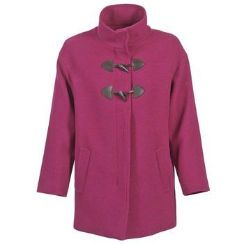 tekstylia Damskie Płaszcze Benetton DILO Różowy
