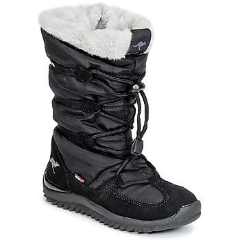 Buty Damskie Śniegowce Kangaroos PUFFY III JUNIOR Czarny