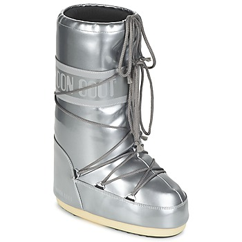 Buty Damskie Śniegowce Moon Boot MOON BOOT VYNIL MET Argenté