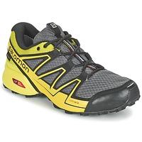 Buty Męskie Bieganie / trail Salomon SPEEDCROSS VARIO GTX® Szary / Zielony / żółty