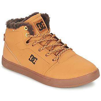 Buty Dziecko Trampki wysokie DC Shoes CRISIS HIGH WNT B SHOE WD4 Blé / CHOCOLAT