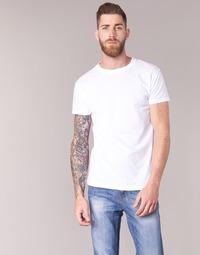 tekstylia Męskie T-shirty z krótkim rękawem BOTD ESTOILA Biały