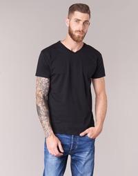 tekstylia Męskie T-shirty z krótkim rękawem BOTD ECALORA Czarny