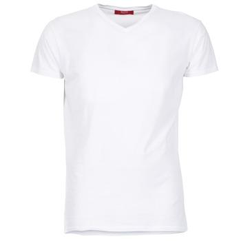 tekstylia Męskie T-shirty z krótkim rękawem BOTD ECALORA Biały