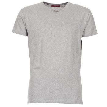 tekstylia Męskie T-shirty z krótkim rękawem BOTD ECALORA Szary / Chiné