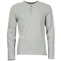 tekstylia Męskie T-shirty z długim rękawem BOTD ETUNAMA Szary / Chiné