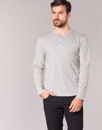 tekstylia Męskie T-shirty z długim rękawem BOTD ETUNAMA Szary