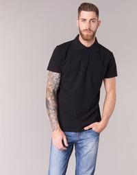 tekstylia Męskie Koszulki polo z krótkim rękawem BOTD EPOLARO Czarny