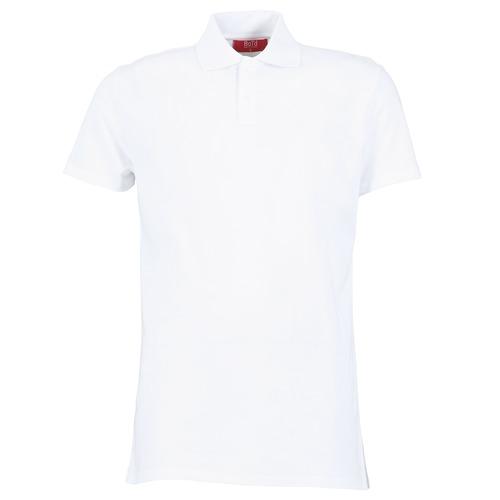 tekstylia Męskie Koszulki polo z krótkim rękawem BOTD EPOLARO Biały