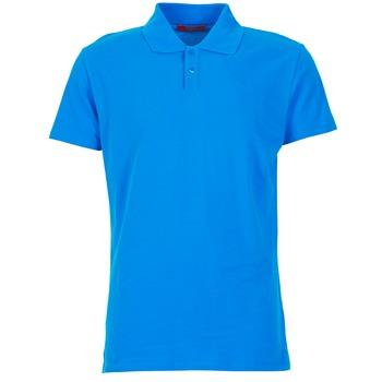 tekstylia Męskie Koszulki polo z krótkim rękawem BOTD EPOLARO Niebieski