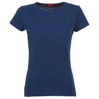 tekstylia Damskie T-shirty z krótkim rękawem BOTD EQUATILA Marine
